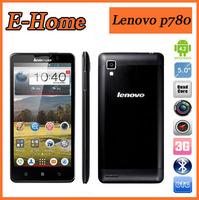 "Original Lenovo P780 Phone MTK6589 Quad Core 1.2GHz android 4.2 5"" 4000mAh 1280X720 8.0MP Camera GPS WIFI WCDMA 3G 1GB Ram Phone"
