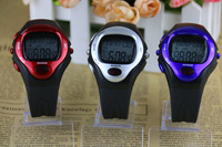 2013 Hot New Stylish Sporty Strapless Noctilucent Heart Rate Monitor Sport Sphygmograph Pulsometer Pulse Wave men sports watches