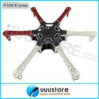 DJI F550 Hexa-Rotor Air Frame FlameWheel Kit 550 mm As DJI For KK MK MWC MultiCopter Hexacopter UFO Heli