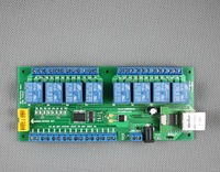 10A 8CH relay modules board for network control with TCP/IP / relay remote control board offline with timer,  mobile phone
