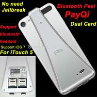 Bluetooth Peel PayQi V4.0 Dual Sim IOS7 for iPod touch 5