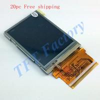 "Factory direct sale  2.4"" TFT LCD Module Dots 240 x 320 Dots 37pins IC ILI9325  Free shipping 20pcs"