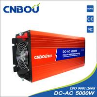 5000W DC input 48V AC output 220v pure sine wave power inverter