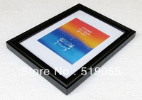 Classic Elegant Real Wood Black/White/Burlywood/Walnut/Wine Red Color 5x7 Photo Frames/Picture Frames Wholesale
