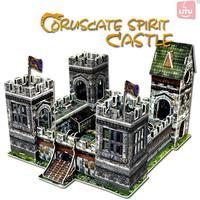 LITU 3D PUZZLE_DIY castle_Coruscate Spirit Castle