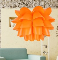 Free shiping +Stylish modern minimalist restaurant chandelier Lotus children's room chandelier bedroom lamp without bulb