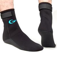 diving socks Stab diving 3mm neoprene meterial  thick socks non-slip socks with anti-scratch Velcro bottom shut