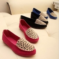 Fashion female nubuck leather flat heel single shoes fashion flat driving shoes Moccasins