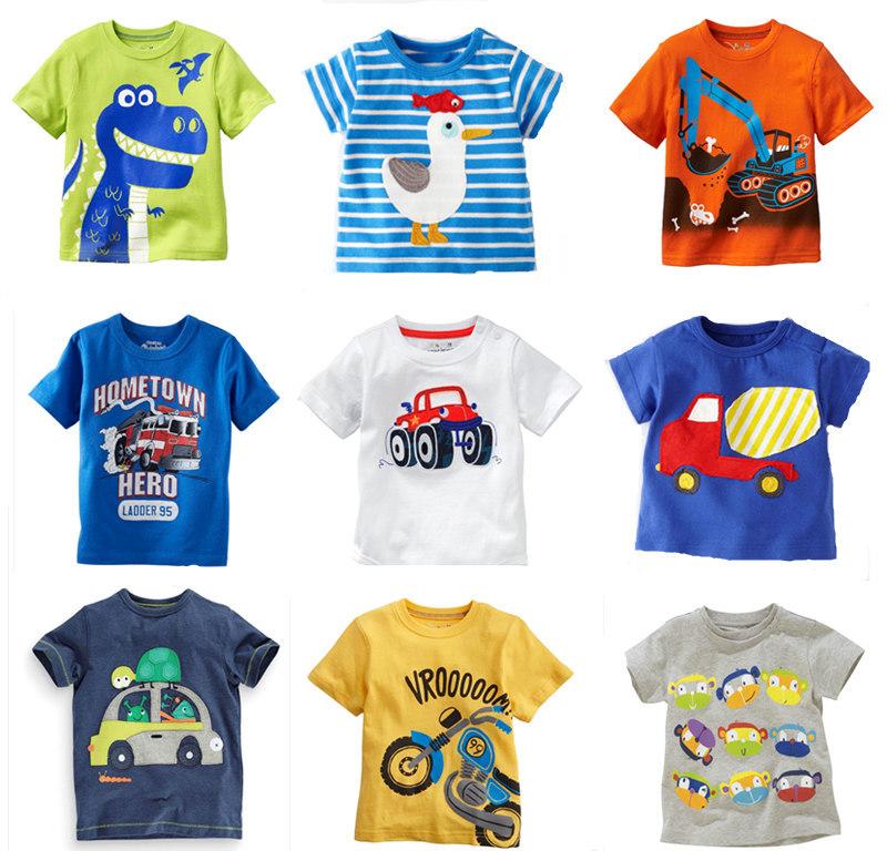 SALERetail 2014 New Brand 100%cotton summer children t shirts t shirt for boys kids chothes blou