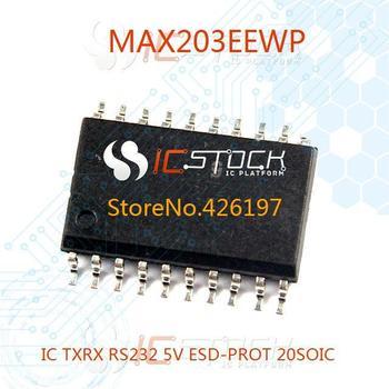 MAX203EEWP IC TXRX RS232 5V ESD-PROT 20SOIC 203 MAX203 1pcs