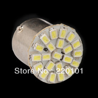 wholesale 3 X 1157 P21/4W P21/5W 7528 BAY15D 22 SMD 1206 Car LED Brake Turn Light Automobile Wedge Lamp light white red blue