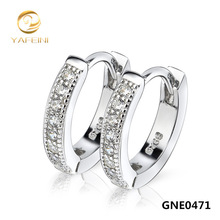 Free Shipping --NEW 925 Sterling Silver Earrings Silver Stylish Jewelry Stud Earrings GNE0471(China (Mainland))