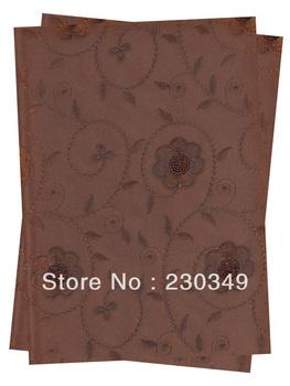 Free shippig African SEGO headtie,Embroidery Sequins HeadtieHead Gear, Sego Gele&Ipele,Head Tie & Wrapper, 2pcs/set