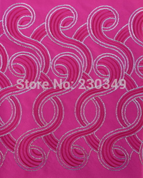 High quality African Embroidery Sequins Headtie,Head Gear,Sego Gele&Ipele,Head Tie & Wrapper, 2pcs/set,NO.0087