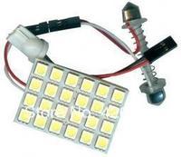 12V Led Car Lighting PCB 5050 24SMD Car LED Doom Light