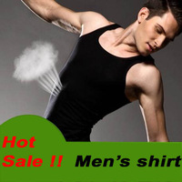 Hot !!! Mens Fashion Vest Shirts sleeveless Men Sports T shirt Tops Free Shipping