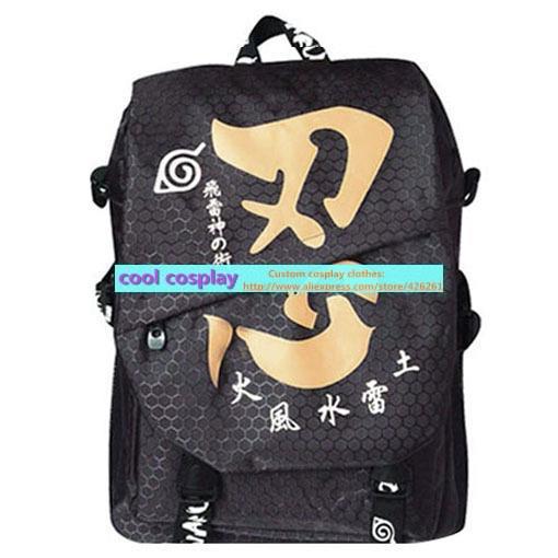 naruto fashion backpack magicaf school bag naruto backpacks 45*30*12cm(China (Mainland))