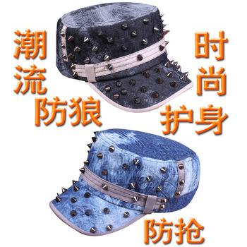 Fashion personality cowboy hat women's cadet cap summer casual cap sunbonnet military hat
