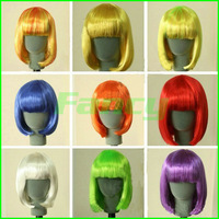 New Factory Direct Fashion bobo wigs Cosplay hair Party dress high temperature Fiber Cheap Hair Wholesale Price