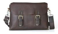 Leather clutch messenger bag man 2014 fashion handbag designer brand original high quality real leather 10842