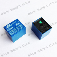 Free Shipping 10PCS/lot 5V DC SONGLE Power Relay T73-5V SRD-5VDC-SL-C SRD-05VDC-SL-C PCB Type In stock