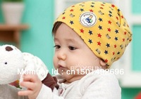 Good quality 15pcs/lot High Quality 12 kinds of styles Top fashion Cartoon baby hat /headwear infant cap headdress free shipping