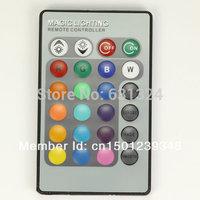 24Key Remote Controler For E27/MR46/E14/GU10 LED RGB Bulb IR Wireless 10Pcs/Lot