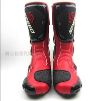 free shipping 2014 new arrive Wind fire wheels speed  motorcycle boots automobile race shoes boots long shoes