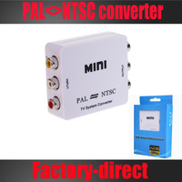 Free shipping&wholesale 1PCS/lot TV System converter PAL to NTSC  or NTSC to PAL Video Converter in retail package