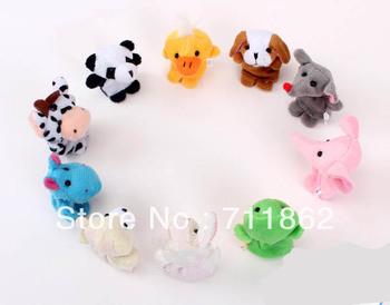 hot Cartoon Animal Finger Puppet,Finger toy,finger doll,baby dolls,Baby Toys