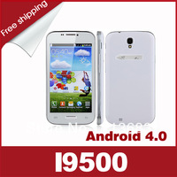 2013 hot Cheap I9500 Android 4.0 SC6820 5.0 Inch Smart Phone