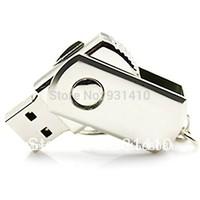 FULL capacity 64GB pen dirves 32GB USB Flash drive+  Swivel Metal USB Memory Stick Flash Pen Drive 8GB 16GB 32GB 64GB