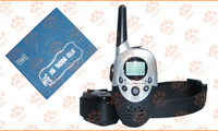 10PCS Free Shipping by DHL Remote control 1000m rechargeable dog training collar