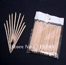 New Arrive: 100X Nail Art Orange Wood Stick Cuticle Pusher Remover wholesale