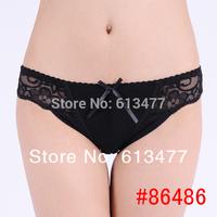 Women lace G-Strings shorts Briefs sexy underwear ladies panties lingerie bikini underwear pants thong intimate wear 3pcs 86486