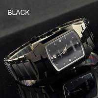 mens watches top brand luxury Watch full Tungsten steel casual quartz watch dress men & women wristwatches lovers