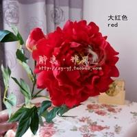 Free shipping artificial flowers artificial flowers silk flower peony Xiantao