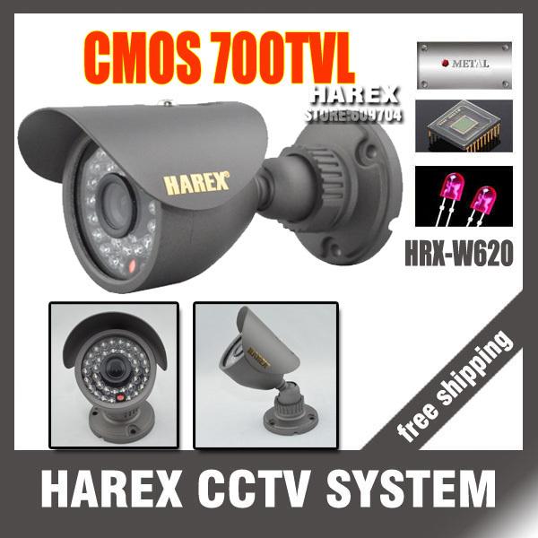 Best price 700TVL CMOS 960H 36pcs IR leds Day/night waterproof indoor / outdoor CCTV camera with bracket. Free Shipping(China (Mainland))
