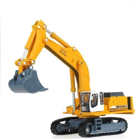 Alloy Engineering Car Model Shovel Excavator / Backhoe Original Car Simulation Multi-Joint Movable Alloy Construction Vehicles(China (Mainland))
