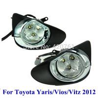 HongKong Post Free Shipping Toyota Yaris Vios Vitz 2012 Led fog light Led fog lamp