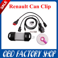 Promotion 2014 Newest Released professional  multi-languange renault can clip V134 Diagnostic Interface for Renault