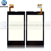 100% Guarantee working Touch Screen Digitizer for Nokia Lumia 520 Replacement Touch Free Shipping