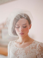 Birdcage veil lace wedding veil cathedral bridal veil headdress wedding decoration wedding dress accessories mantillas