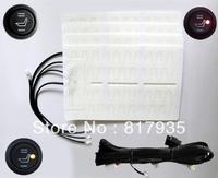 2 seats universal non woven fabrics round switch hi-low off auto seat heater,auto parts,automobile