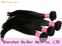 Huiker brazilian 100% unprocessed  virgin remy  straight  hair , 10pcs/ bundles 10-30inch mixed lenght 5a(aaaaa) free shipping