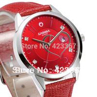 2015 New Watch Relogios Femininos Fashion Brand Women's Quartz Watch Lady Genuine Leather Strap Waterproof 5atm Casual Clock