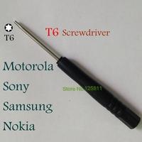100pcs/lot T6  Screwdriver for Cell Mobile Phone Repair Mini Screw Driver