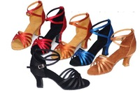 6 Heel 6cm Women's Shoes Classic Tango Ballroom Latin Dance Shoes Girls Dancing Shoes Free Shipping
