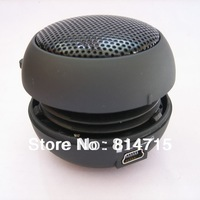 Free Shipping Mini Hamburger Speaker Portable Capsule Mini Speaker