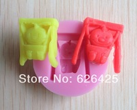 1PCS 3D baby silicone mold soap,fondant candle molds,sugar craft tools,, chocolate mould ,silicone molds for cakes,C095